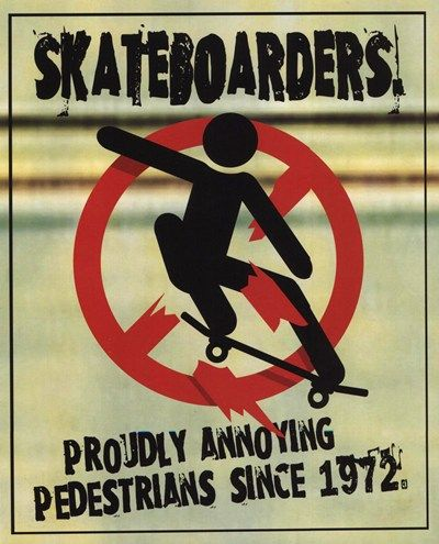 Unknown - Skateboarders (postercard) - art prints and posters