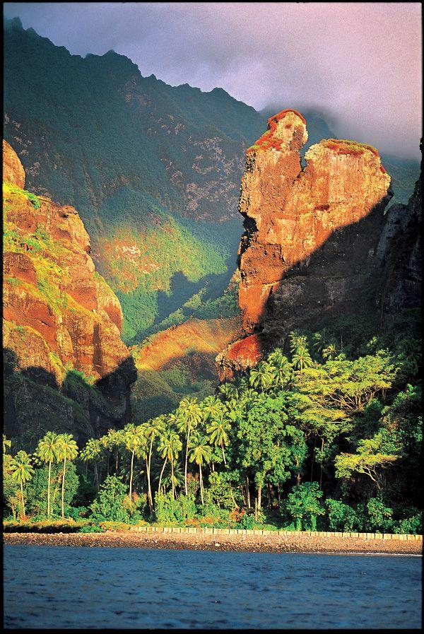 Beauté sublime en Polynésie!  Archipel des Marquises
