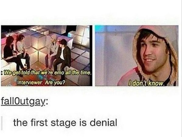 So much innocence in that face when he answered