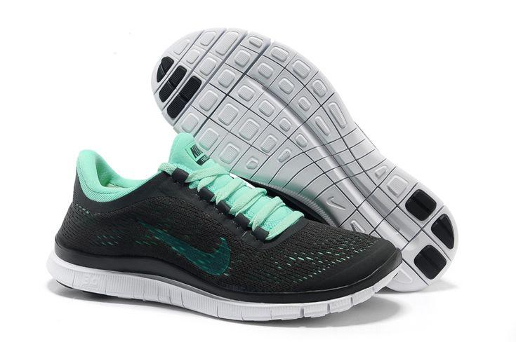 the best attitude 8419d 39b1e ... reduced black aqua nike free 3.0 v5 womens running shoes 40363 bff9e