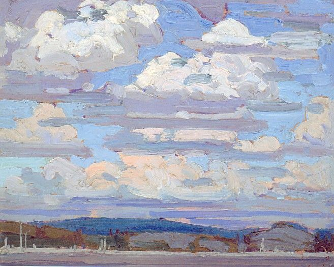 Tom Thomson. Summer Clouds. (Group of Seven)