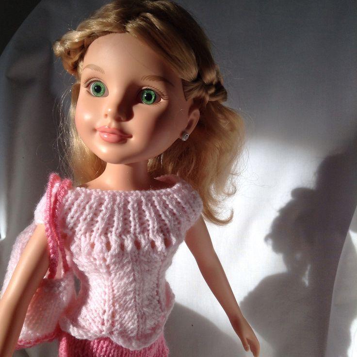 """16-18"""" dolls designer knitwear for summer by DillyDollyDandy on Etsy https://www.etsy.com/listing/449798296/16-18-dolls-designer-knitwear-for-summer"""