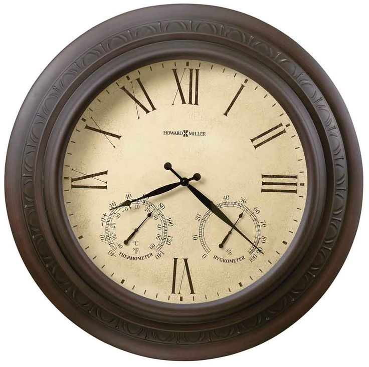 "Copper Harbor Outdoor Wall Clock 28"" by Howard Miller - Howard Miller Wall Clocks