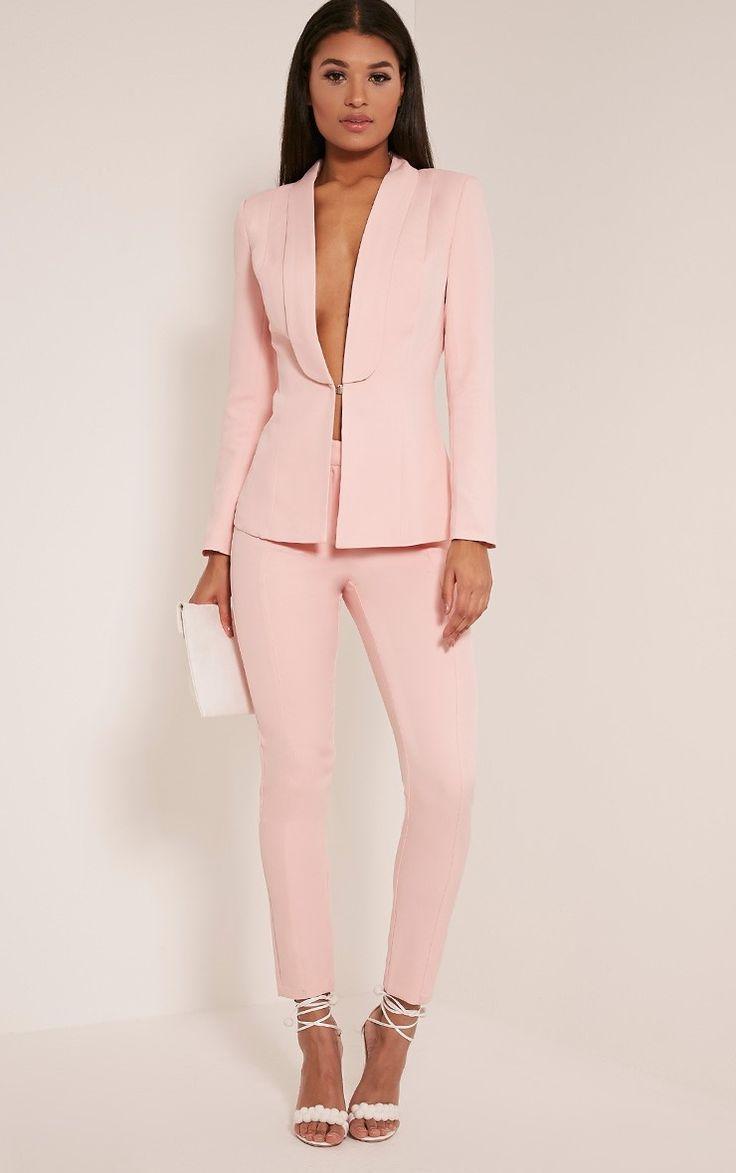 Best 25  Pink suit ideas on Pinterest | Light pink pants, Zara ...