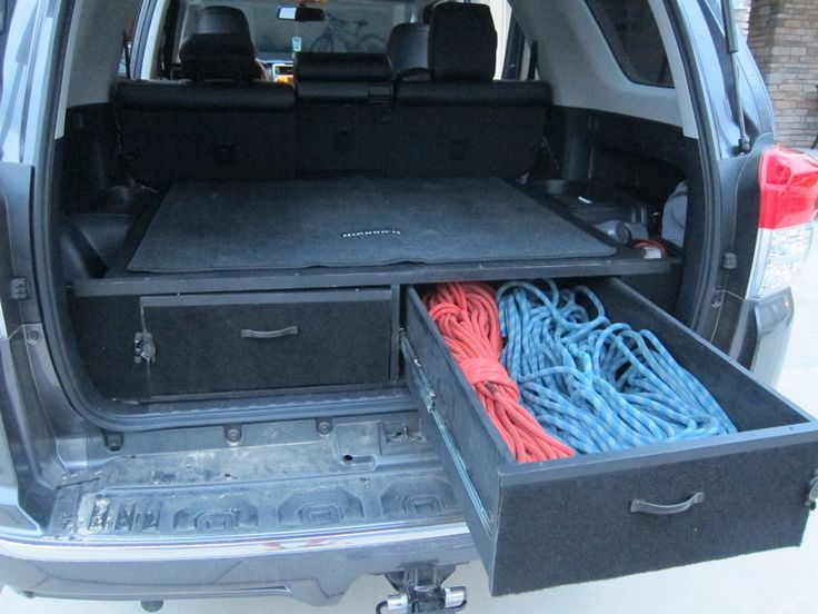 Cargo Drawers And Sleeping Platform Toyota 4runner Forum