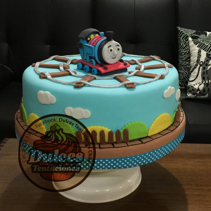 Torta tren thomas