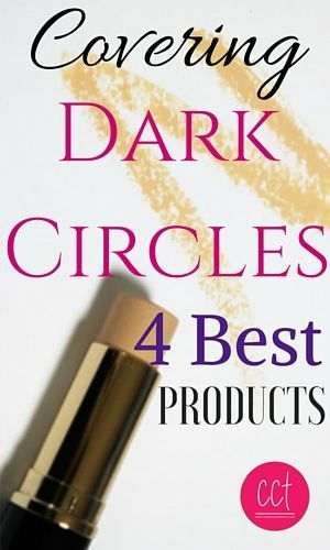 4 Products worth the hype for covering dark circles.  makeup over 40