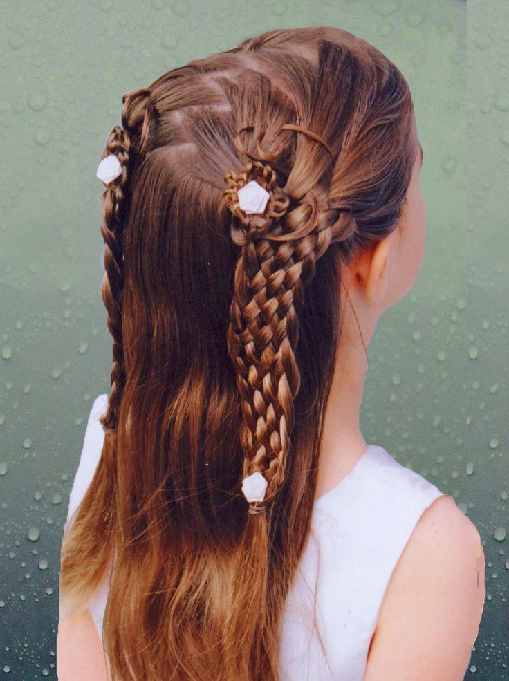 300 best Braids Renaissance Hair images on Pinterest Long hair Hair dos and Hair ideas