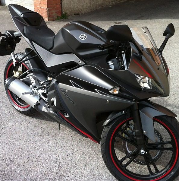 Yamaha YZF R125 Most beautiful in matte grey