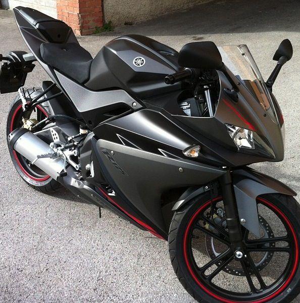 Yamaha YZF R125 - My bike