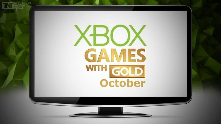 Microsoft Corporation Reveals Xbox Live Games With Gold For October. See More at http://techclones.com/