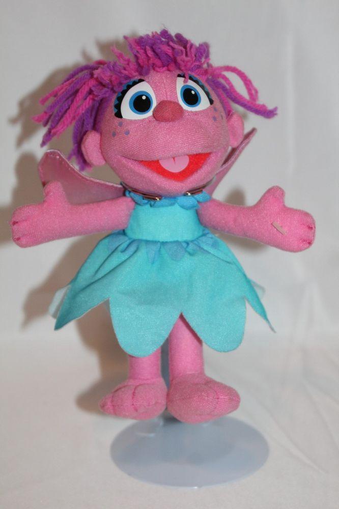 Hasbro Sesame Street Abby Cadabby 9 Soft Plush Pink Fairy