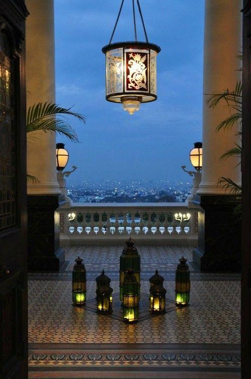 Lanterns - Taj Falaknuma Palace - Hyderabad, India