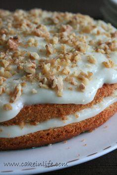 Cake İn Life: Kremalı Havuçlu Kek