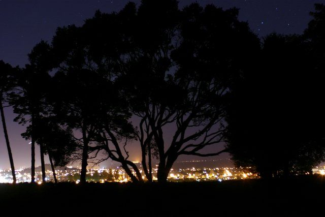 Photo Art N.Z.: Auckland by night