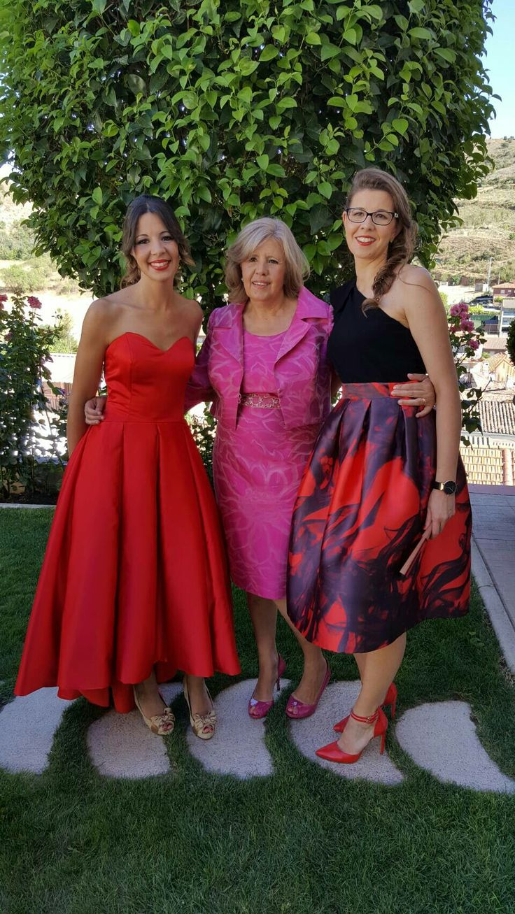 Vestidos de fiesta, boda de tarde