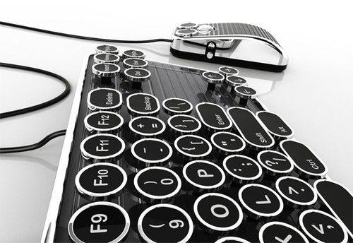 Typewriter Keyboard. Awesome