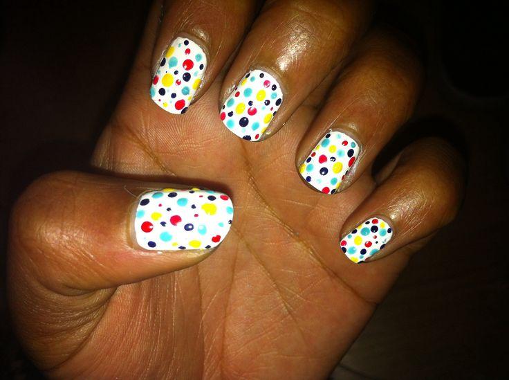 Colourful Polka Dots