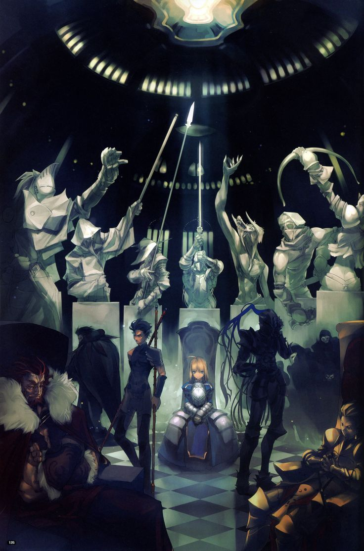 Fate/Zero, Servants and their class