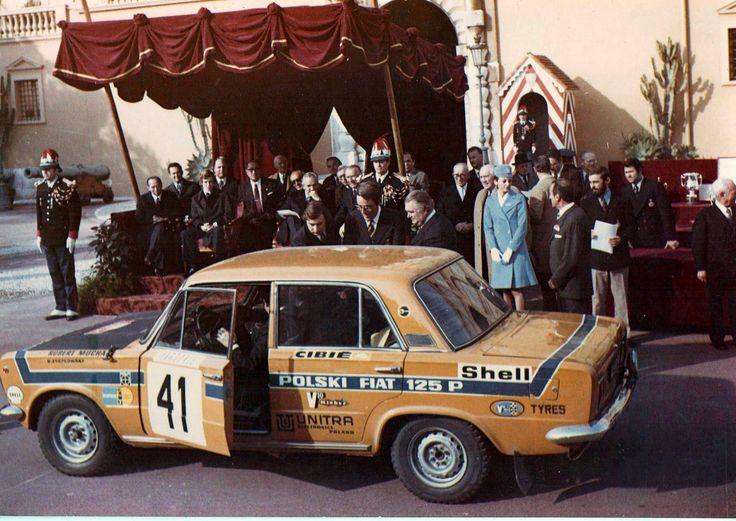 Fiat 125p (Monte Carlo 1973)