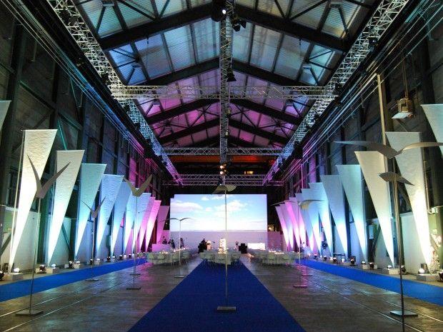 ZSG-Werfthalle als Eventlocation - direkt am Zürichsee! Seminarlocation…