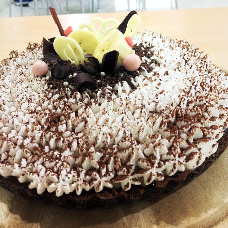 #cake #dessert #sweet  Banoffee