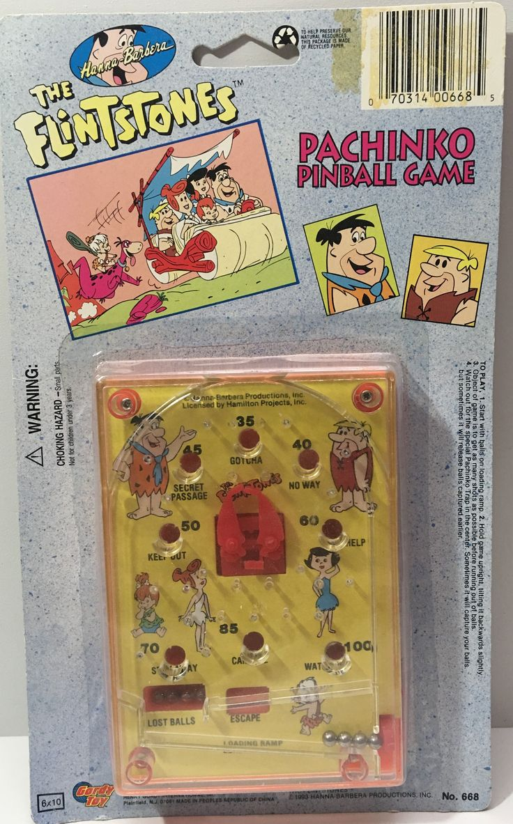 We always have the hottest Vintage Toys at The Angry Spider.  Now available: (TAS036048) - 199...  Check it out here: http://theangryspider.com/products/tas036048-1993-hanna-barbera-the-flintstones-pachinko-pinball-game?utm_campaign=social_autopilot&utm_source=pin&utm_medium=pin