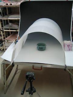 mesa com setup para fotografia