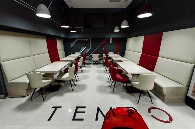 Архитектура / Интерьер / Фотография: Интерьер ресторана Tемро
