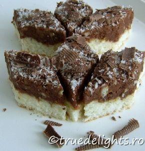 prajitura cu crema de nuci