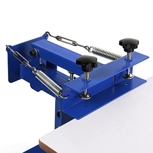 VEVOR Screen Printing Machine 1 Station 1 Color Screen Printing for T-shirt DIY Screen Printing Press Silk Screen Removable Pallet (1 station 1 color)