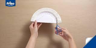 Image result for kerajinan piring kertas bentuk bulan