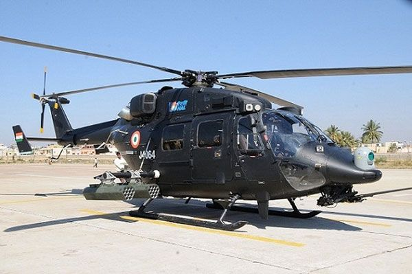 future military helicopters - HAL Rudra is the WSI version of the Dhruv Advanced Light Helicopter (ALH).