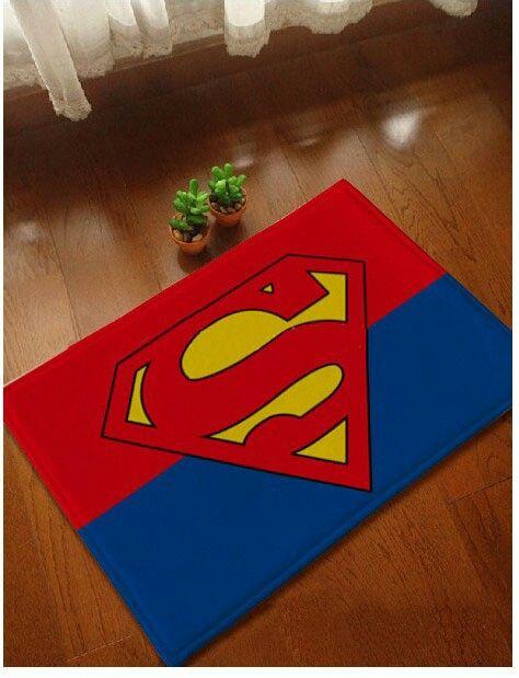 Superb Superman Rug