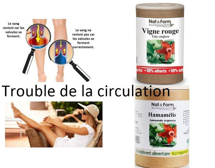 Hamamélis et la vigne rouge sont des compléments alimentaires recommandés pour atténuer les problèmes liés à une mauvaise circulation (jambes lourdes, varices, hémorroïdes et couperose).
