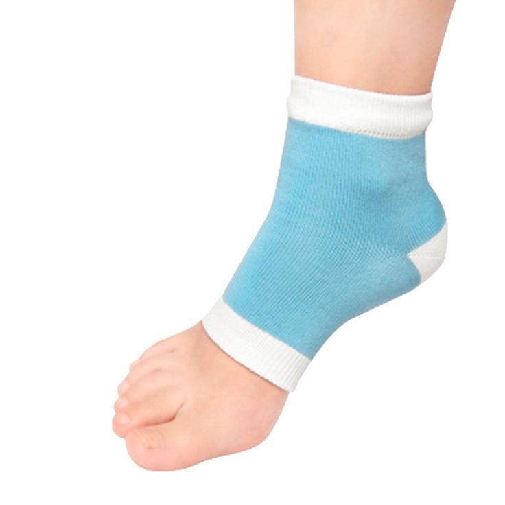 1pair High Quality Gel Heel Socks Moisturing Spa Gel Socks feet care Cracked Foot Dry Hard Skin Protector