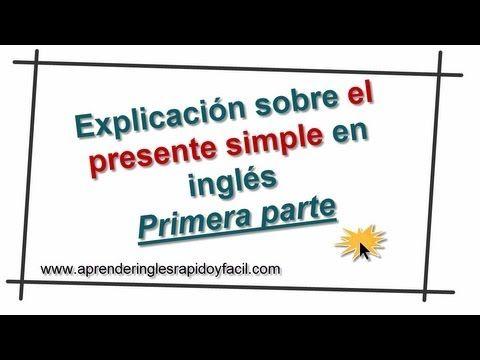 En esta lección aprenderás sobre el presente simple en inglés con oraciones de ejemplo en afirmativo, negativo, e interrogativo. Usos y Reglas