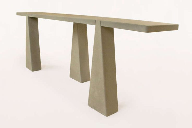 A Pietra Serena Console Table by Angelo Mangiarotti circa 1970, Italy   From a unique collection of antique and modern console tables at http://www.1stdibs.com/furniture/tables/console-tables/