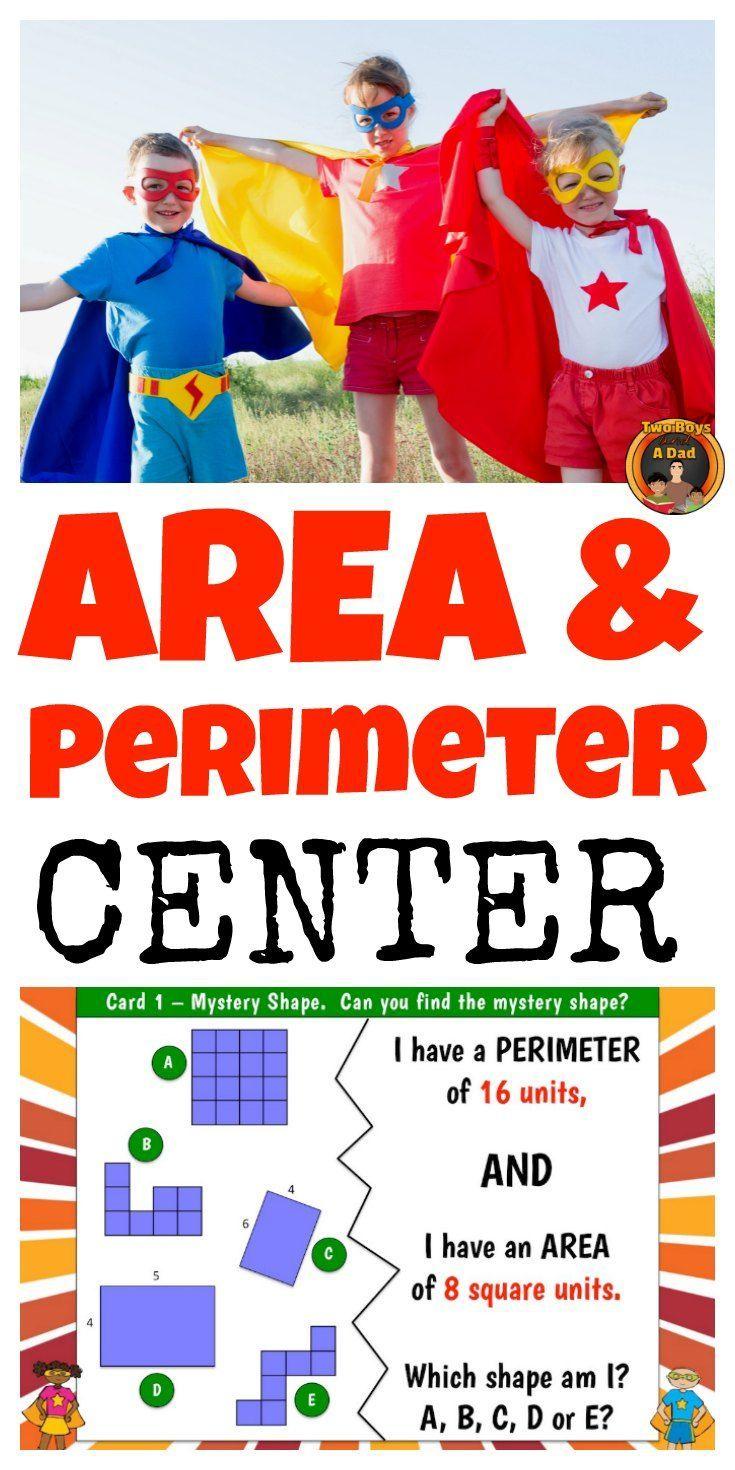 Perimeter And Area Center