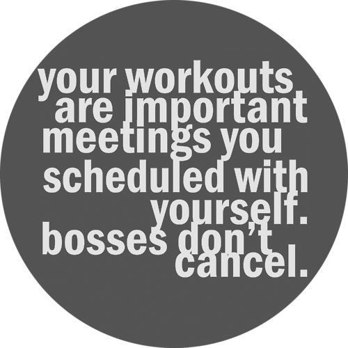 Important Meetings you scheduled with yourself