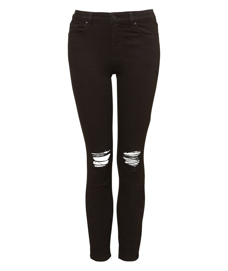 BUSTED KNEE ANKLE GRAZER JEAN