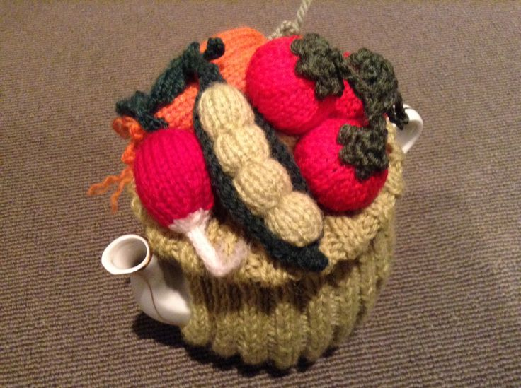 Tea Cosy - From the Vege Garden