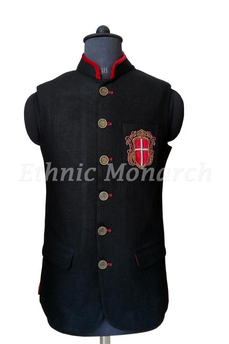 Amazing Black Nehru Jacket