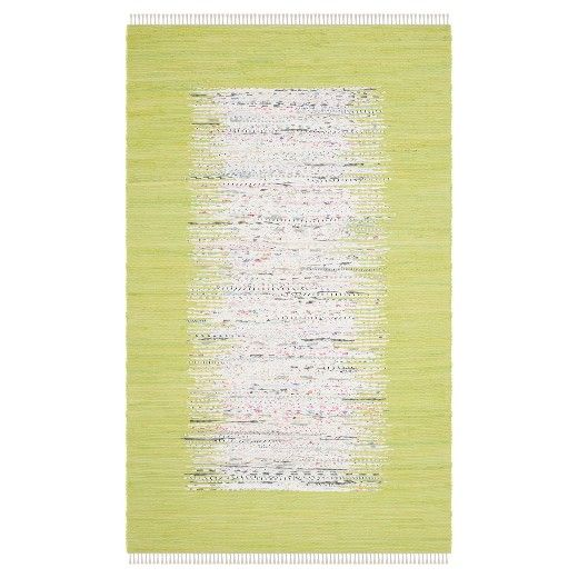 Bettina Flatweave Rug from Target In the color Citron