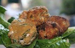 Le polpette di broccolo, un classico della cucina siciliana