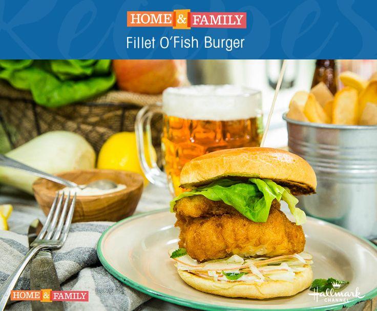 Fillet o 39 fish burger recipe fish burger for Fish burger recipe