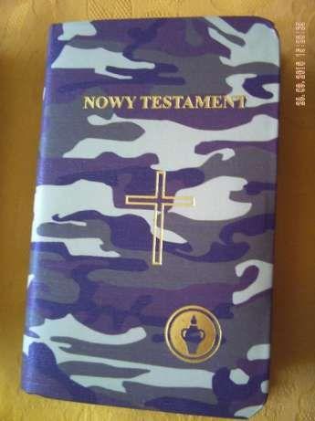 Kieszonkowy Nowy Testament , kolor morowy Rybnik - image 1