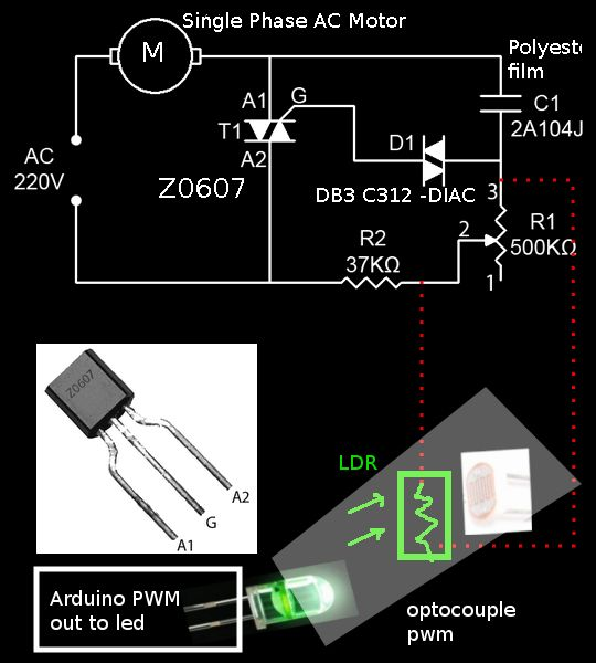 Society Ceiling Fan Speed Controller Electronic Circuit Schematic
