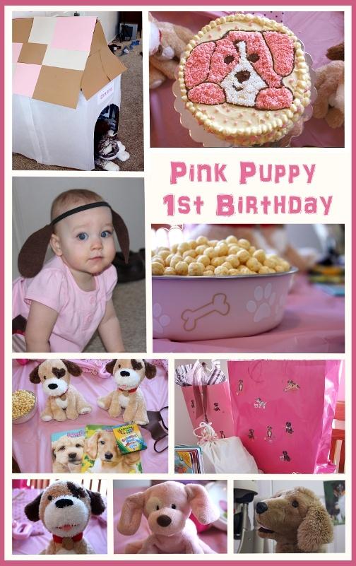 Calendar Party Ideas : Pink puppy party ideas laminate use dog calendar