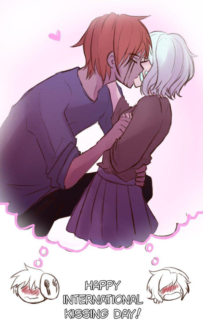 Happy International Kissing Day [Creepypasta] by LostWight ...